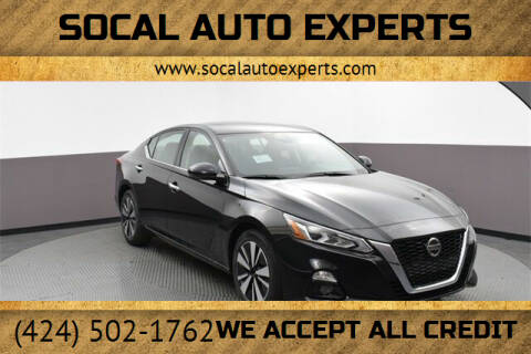 2019 Nissan Altima for sale at SoCal Auto Experts in Culver City CA
