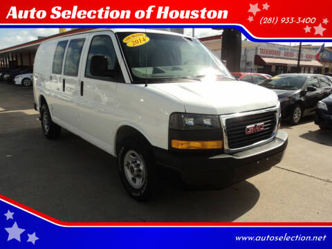 2014 GMC Savana Cargo for sale at Auto Selection of Houston in Houston TX