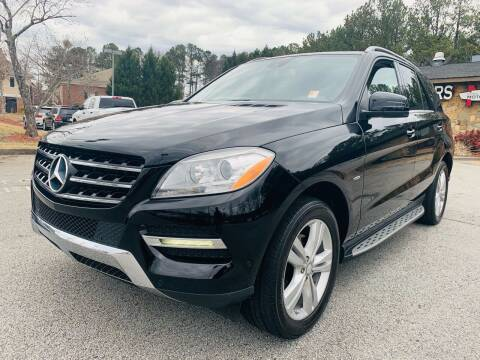 2012 Mercedes-Benz M-Class for sale at Classic Luxury Motors in Buford GA