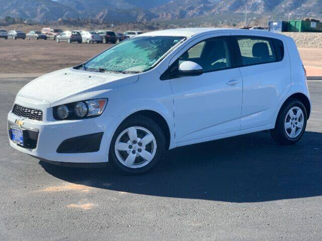 2015 Chevrolet Sonic for sale at Lakeside Auto Brokers in Colorado Springs CO