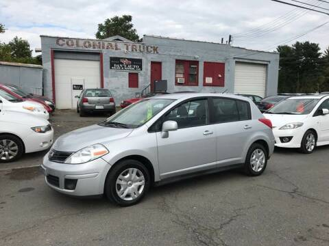 2011 Nissan Versa for sale at Dan's Auto Sales and Repair LLC in East Hartford CT