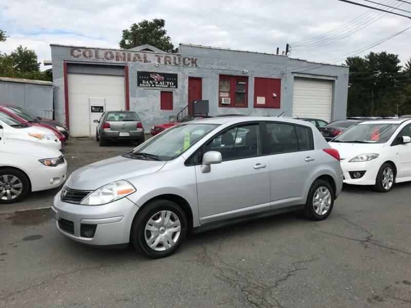 2011 Nissan Versa for sale at Dan's Auto Sales and Repair LLC in East Hartford CT