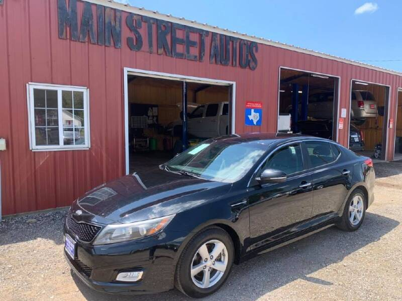 2014 Kia Optima for sale at Main Street Autos Sales and Service LLC in Whitehouse TX