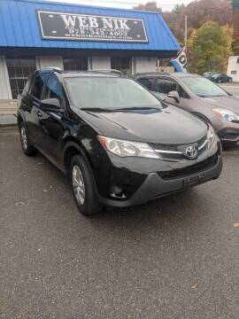 2015 Toyota RAV4 for sale at WEB NIK Motors in Fitchburg MA