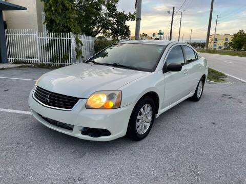 2009 Mitsubishi Galant for sale at UNITED AUTO BROKERS in Hollywood FL