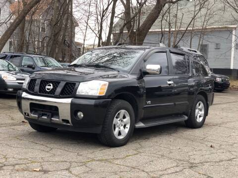 2005 Nissan Armada for sale at Emory Street Auto Sales and Service in Attleboro MA