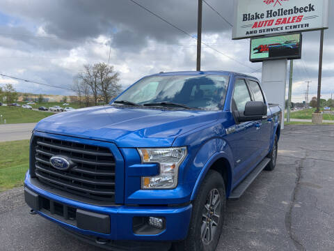 2015 Ford F-150 for sale at Blake Hollenbeck Auto Sales in Greenville MI