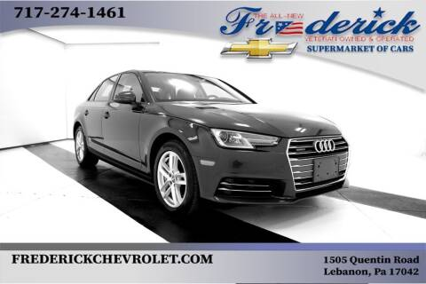 2017 Audi A4 for sale at Lancaster Pre-Owned in Lancaster PA