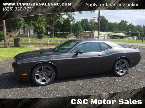 2013 Dodge Challenger for sale at C&C Motor Sales LLC in Hudson NC
