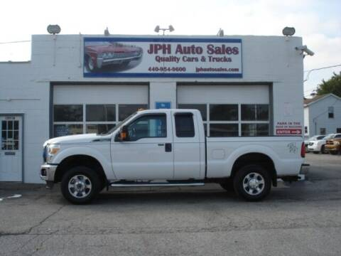 2013 Ford F-250 Super Duty for sale at JPH Auto Sales in Eastlake OH