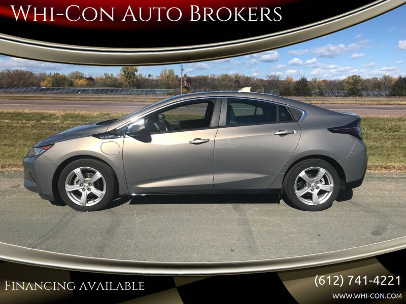 2017 Chevrolet Volt for sale at Whi-Con Auto Brokers in Shakopee MN