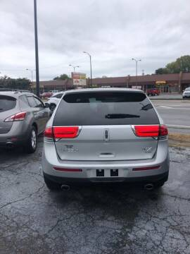 2013 Lincoln MKX for sale at DOWNHOME MOTORS INC in Gallatin TN