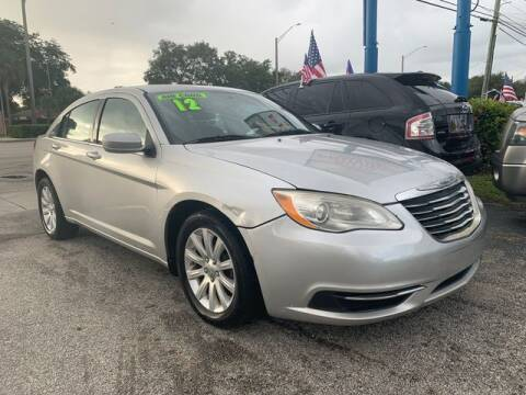 2012 Chrysler 200 for sale at AUTO PROVIDER in Fort Lauderdale FL