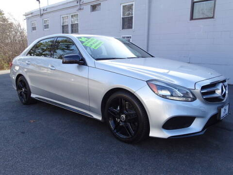 2014 Mercedes-Benz E-Class for sale at Sandy Motors Inc in Coventry RI