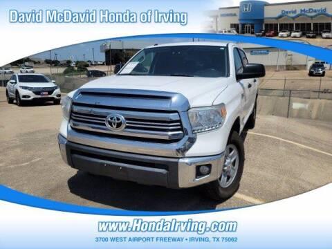 2016 Toyota Tundra for sale at DAVID McDAVID HONDA OF IRVING in Irving TX