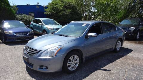 2012 Nissan Altima for sale at HOUSTON'S BEST AUTO SALES in Houston TX