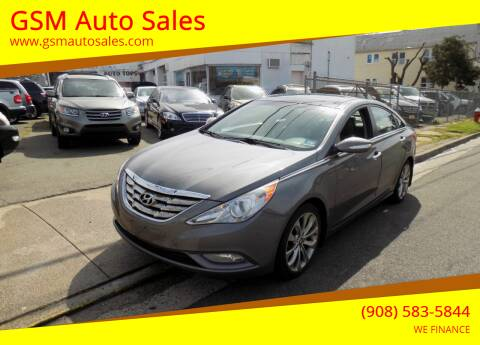 2012 Hyundai Sonata for sale at GSM Auto Sales in Linden NJ