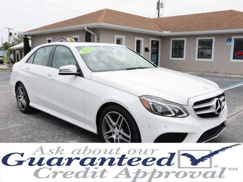 2016 Mercedes-Benz E-Class for sale at Universal Auto Sales in Plant City FL