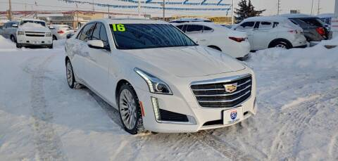 2016 Cadillac CTS for sale at I-80 Auto Sales in Hazel Crest IL