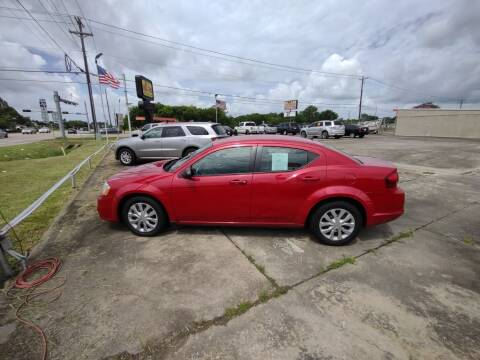 2014 Dodge Avenger for sale at BIG 7 USED CARS INC in League City TX
