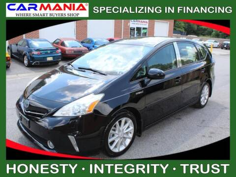 2012 Toyota Prius v for sale at CARMANIA LLC in Chesapeake VA