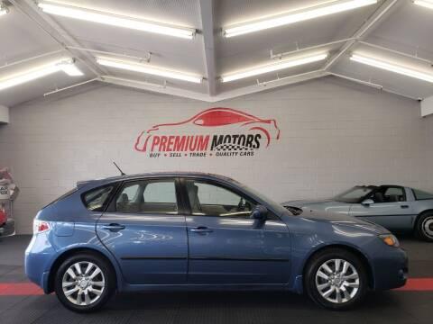 2009 Subaru Impreza for sale at Premium Motors in Villa Park IL