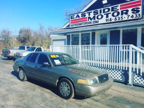 2008 Ford Crown Victoria for sale at EASTSIDE MOTORS in Tulsa OK