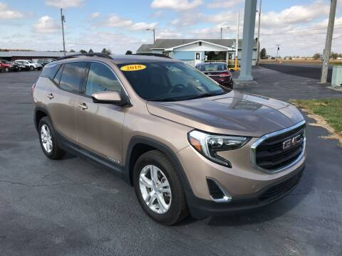 2018 GMC Terrain for sale at Huggins Auto Sales in Hartford City IN