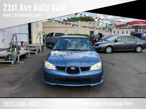 2007 Subaru Impreza for sale at 21st Ave Auto Sale in Paterson NJ