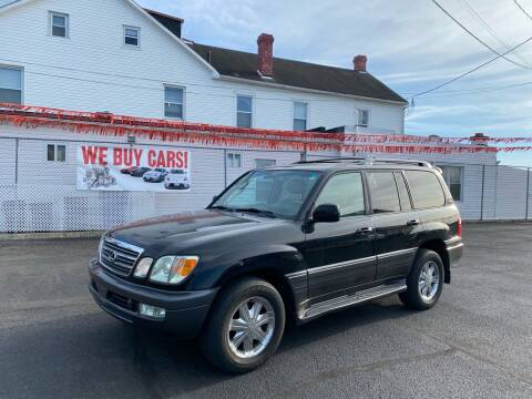 2005 Lexus LX 470 for sale at 4X4 Rides in Hagerstown MD