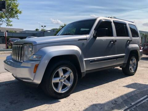 2009 Jeep Liberty for sale at Meru Motors in Hollywood FL