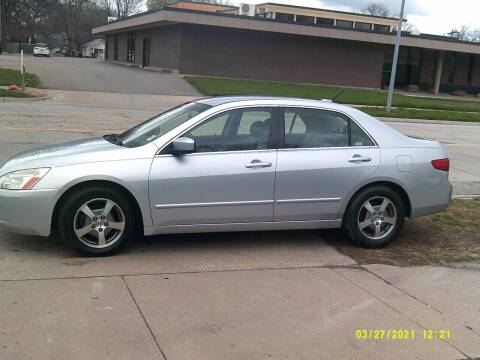 2005 Honda Accord for sale at D & D Auto Sales in Topeka KS