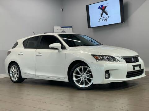 2011 Lexus CT 200h for sale at TX Auto Group in Houston TX