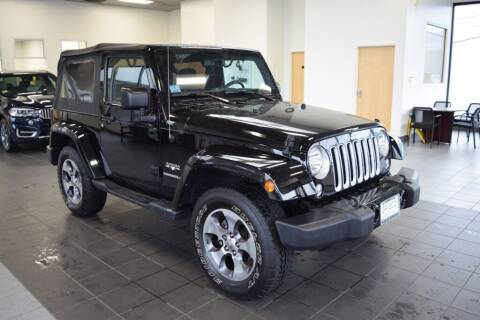 2016 Jeep Wrangler for sale at BMW OF NEWPORT in Middletown RI