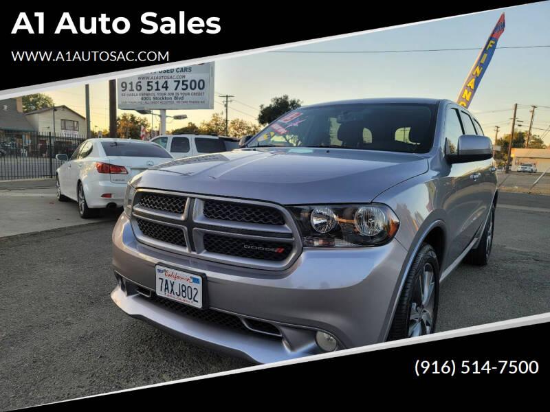 2013 Dodge Durango for sale at A1 Auto Sales in Sacramento CA