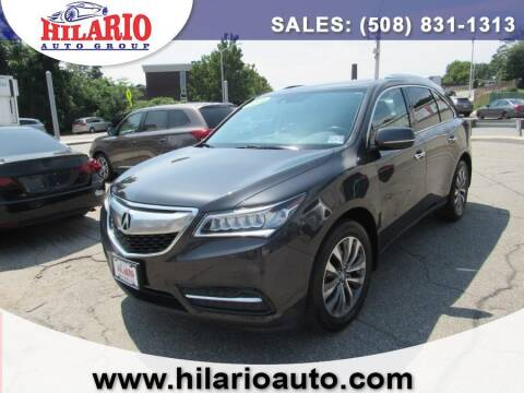 2014 Acura MDX for sale at Hilario's Auto Sales in Worcester MA