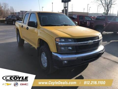 2006 Chevrolet Colorado for sale at COYLE GM - COYLE NISSAN - Coyle Nissan in Clarksville IN