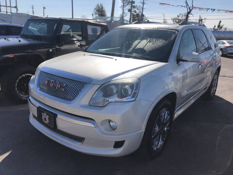 2011 GMC Acadia for sale at Outdoor Recreation World Inc. in Panama City FL