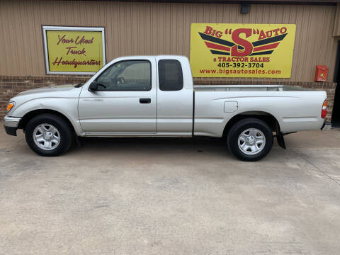 2002 Toyota Tacoma for sale at BIG 'S' AUTO & TRACTOR SALES in Blanchard OK
