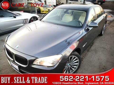 2011 BMW 7 Series for sale at Carz 4 Toyz in Inglewood CA