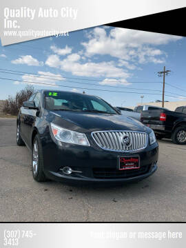 2012 Buick LaCrosse for sale at Quality Auto City Inc. in Laramie WY