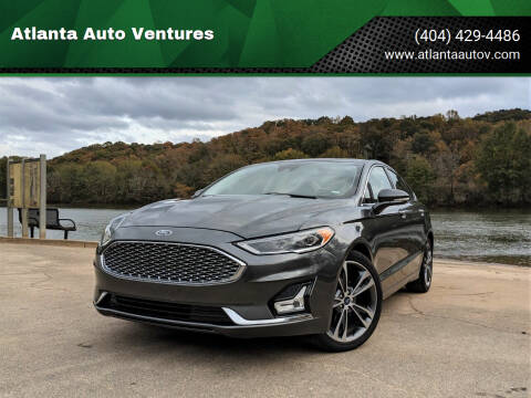 2020 Ford Fusion for sale at Atlanta Auto Ventures in Roswell GA