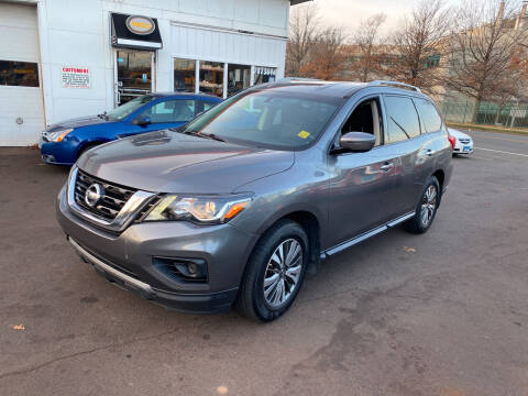 2017 Nissan Pathfinder for sale at Vuolo Auto Sales in North Haven CT