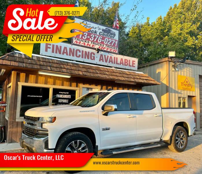 2019 Chevrolet Silverado 1500 for sale at Oscar's Truck Center, LLC in Houston TX