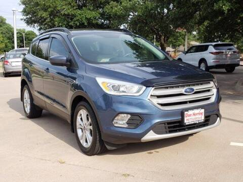 2018 Ford Escape for sale at Don Herring Mitsubishi in Plano TX