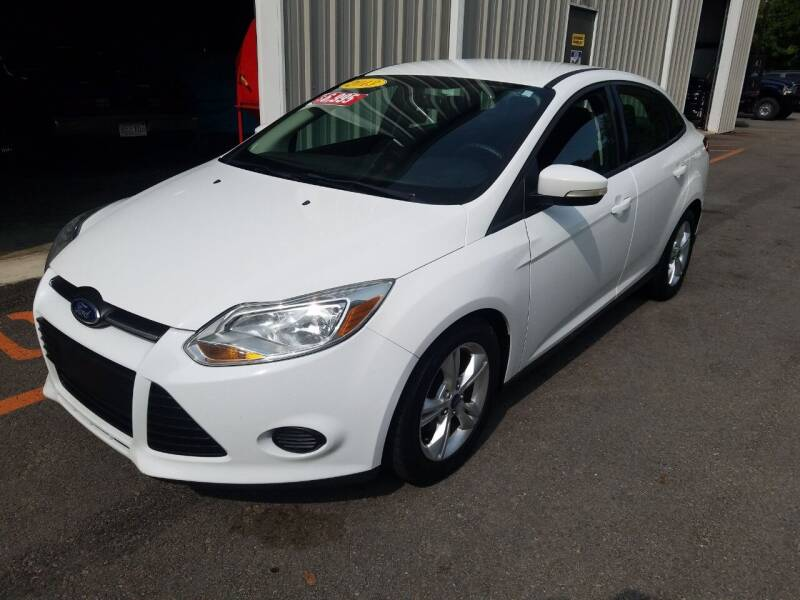 2013 Ford Focus for sale at Hometown Automotive Service & Sales in Holliston MA