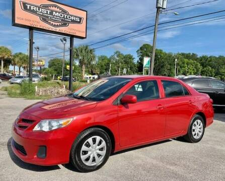 2013 Toyota Corolla for sale at Trust Motors in Jacksonville FL