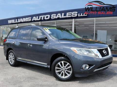 2013 Nissan Pathfinder for sale at Williams Auto Sales, LLC in Cookeville TN