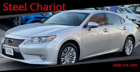 2014 Lexus ES 350 for sale at Steel Chariot in San Jose CA