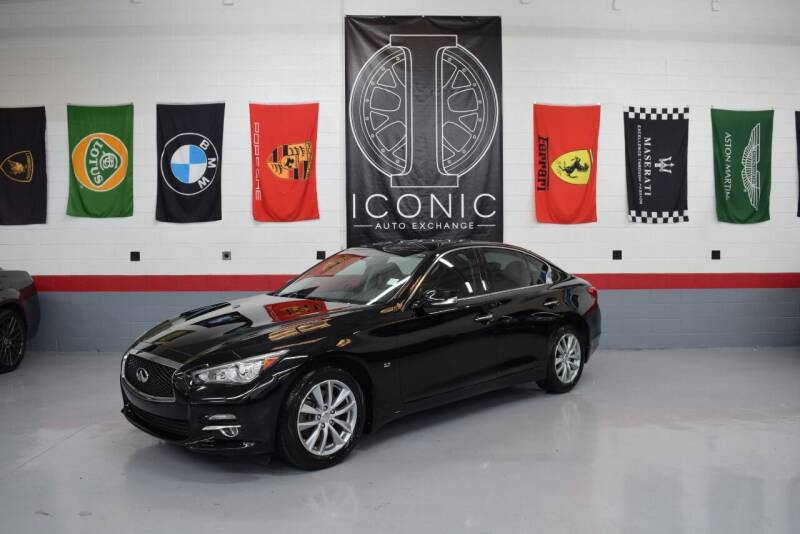 2015 Infiniti Q50 for sale at Iconic Auto Exchange in Concord NC